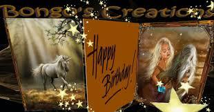 second life marketplace bc musical birthday unicorn card v2