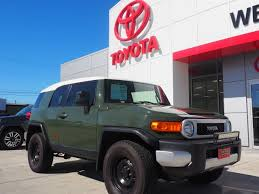 toyota land cruiser certified pre owned certified pre owned 2012 toyota fj cruiser bse 4d sport utility in
