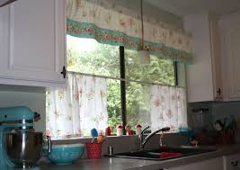 Cafe Kitchen Curtains Cafe Curtains For Kitchen With Cafa Au Lait Curtain Tier And