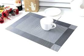 dining room placemats terrific buy yellow 6 piece dining table mats dining room table