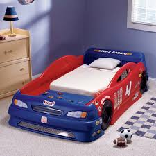Little Tikes Race Car Bed Red And Blue Convertible Race Car Beds With Mattress For Toddlers