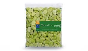 comment cuisiner les feves surgel馥s fèves pelées surgelés les légumes picard