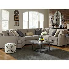 Benchcraft Furniture Benchcraft Pantomine 4 Pc Sectional Laf Cuddler Wedge Armless And