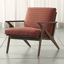 How To Reupholster A Bar Stool Chairs Swivel Rocking And Accent Chairs Crate And Barrel
