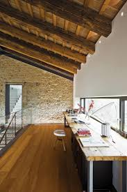home office luxury mediterranean desc kneeling chair white wall