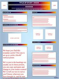 power point poster template qualitative poster presentation
