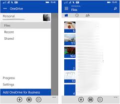 onedrive app for android microsoft to improve the new poor windows phone onedrive app ui