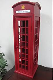 london phone booth bookcase amazon com southern enterprises phone booth storage cabinet in red