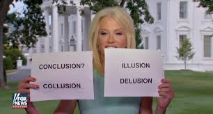 Cards Meme - kellyanne conway s collusion cue cards all the best memes ny
