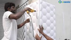 ecoste clad ex 3d wall panels installation youtube