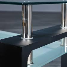 Wohnzimmertisch Cool Links 50100045 Couchtisch Glas Wohnzimmertisch Wohnzimmer Tisch