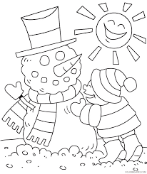 winter coloring pages penguin igloo coloring4free coloring4free com