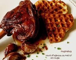 cuisiner souris d agneau au four souris d agneau confite au vin et au miel merci tiuscha et