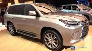 lexus lx interior 2017 lexus lx 570 exterior and interior walkaround 2017