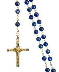 christian rosary rosary of the word lapis lazuli catholic christian