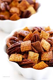 candied pecan chex mix gimme some oven