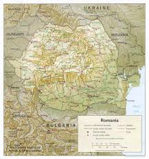 Map Of Romania In Europe by Maps Of Romania Detailed Map Of Romania In English Tourist Map