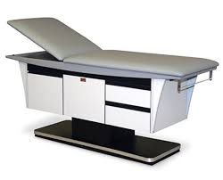 hausmann hand therapy table hausmann 4796 deluxe treatment table save at tiger medical inc