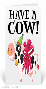 cow greeting cards cow birthday cards 80230 harrison greetings