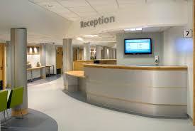 Hospital Receptionist Outpatient Department Redesign Koubou Interiors