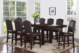 9 Pc Dining Room Sets World Menagerie Manning 9 Piece Counter Height Dining Set