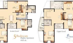 18 best simple 5 bedroom duplex house plans ideas house plans