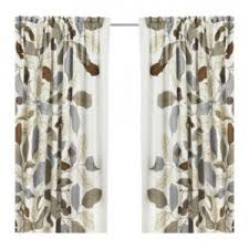 Leaf Design Curtains Ikea Curtains Leaves Decorate The House With Beautiful Curtains