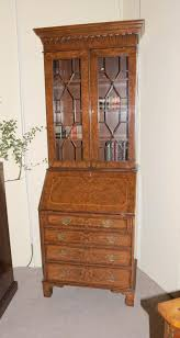 bureau ebay walnut bookcase bureau cabinet desk ebay