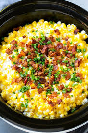 delish cooker creamed corn is the thanksgiving side