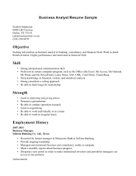 resume sample objective statement cover letter system analyst sample resume business system analyst cover letter ba resume samples agile business analyst lt a href quot sample objective statements forsystem