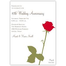 wedding anniversary invitations paperstyle