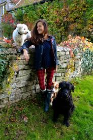 rosie of the londoner wearing hunter boots fall pinterest