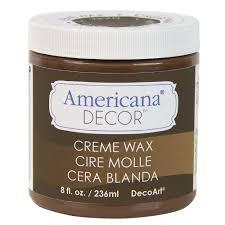 decoart americana decor 8 oz deep brown creme wax adm07 95 the