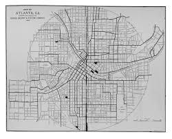Map Of Atlanta Mcgraw Electric Railway Manual Perry Castañeda Map Collection