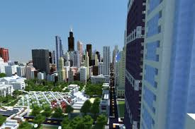 Minecraft New York City Map by Finally Someone Has Built A Model Of Chicago In Minecraft