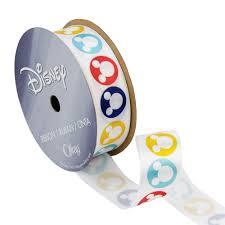 mickey ribbon 7 8 mickey mouse ribbon circle silouhette multi discount