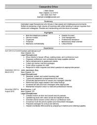 really resume exles best receptionist resume exle livecareer