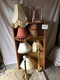 puget sound estate auctions lot 159 2 brass lamps selection
