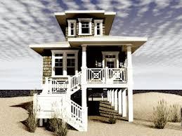Beach House On Stilts Plans For Beach Houses On Stilts House Plans