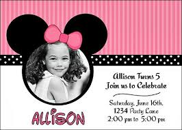 Free Printable Minnie Mouse Invitation Template by Invitaciones Para Imprimir De Mickey Mouse Personalizado Para Su