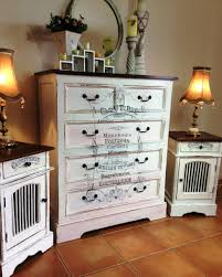 Shabby Chic Dressers by Shabby Chic Dresser And Matching Bedside Table Set Reader