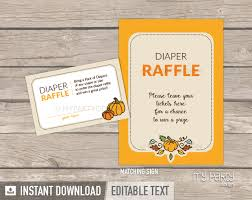 raffle baby shower pumpkin baby shower printable raffle tickets and