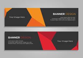 banner design jpg banner design corporate web header download free vector art