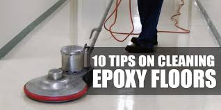10 tips on how to clean and maintain epoxy garage floor coatings