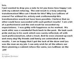testimonials happy letters