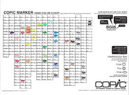 blank blank copic sketch color chart