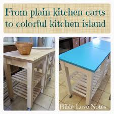 Turquoise Kitchen Island 1 Minute Bible Love Notes Kitchen Island Cart