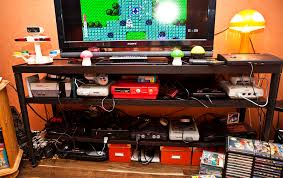 Console Gaming Desk Collector Retro Video Gaming