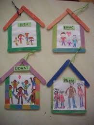 best 25 family crafts ideas on photo wall wall