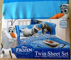Twin Sheet Set Amazon Com Disney Frozen Olaf Twin Sheet Set Home U0026 Kitchen